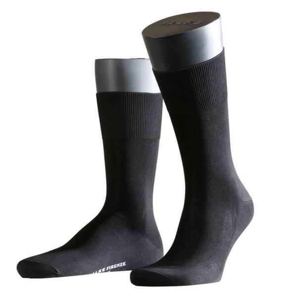 FALKE MEN Firenze Businesssocke aus 97% mercerisierte Baumwolle schwarz 1, 3 oder 9 Paar Superpack