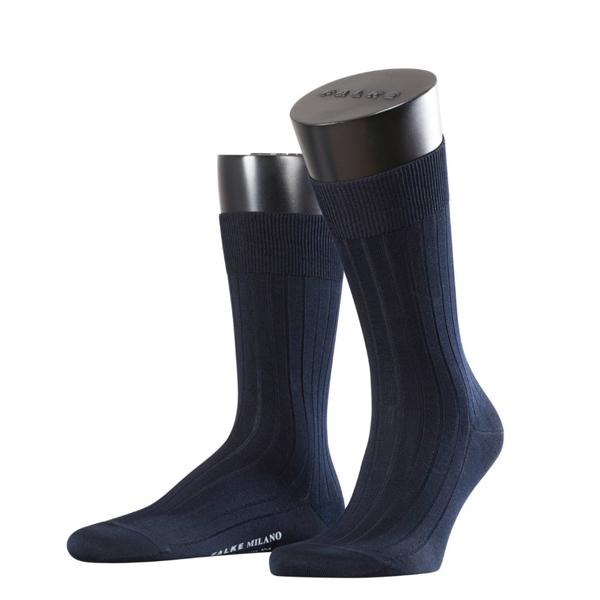 FALKE MEN Firenze Businesssocke aus 97% mercerisierte Baumwolle dark navy 1 oder 3 Paar