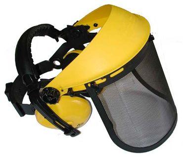 Gehörschutzkombination Comfort inkl. Ersatzgittervisier