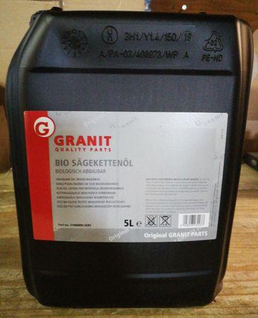 BIO Sägekettenöl / BIO Kettensägenöl 5 Liter Gebinde