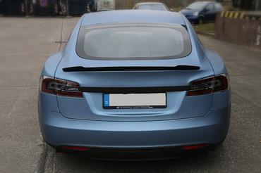 Echt Carbon Heckspoiler Tesla Modell S - Tuning Style – Bild 7