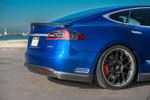 Unplugged Performance PU Unterboden Spoiler und Diffusor System für Tesla Model S 001