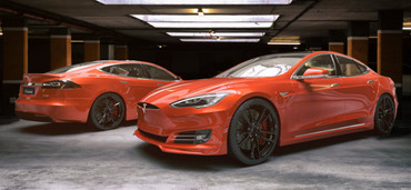 Unplugged Performance Refresh Heckschürzen Set für Tesla Model S – Bild 7
