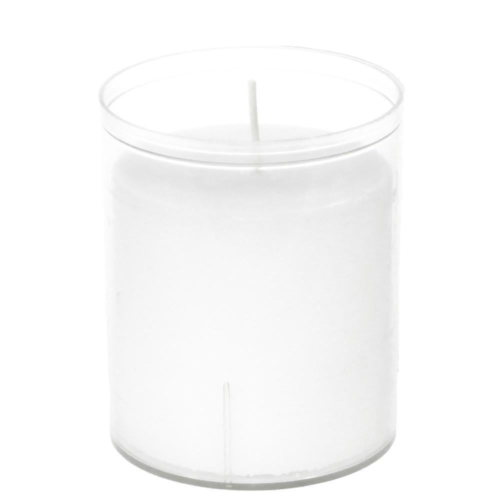 Countryfield 24h-Windlichtkerze Acrylglas XL-Teelicht weiß – Bild 5