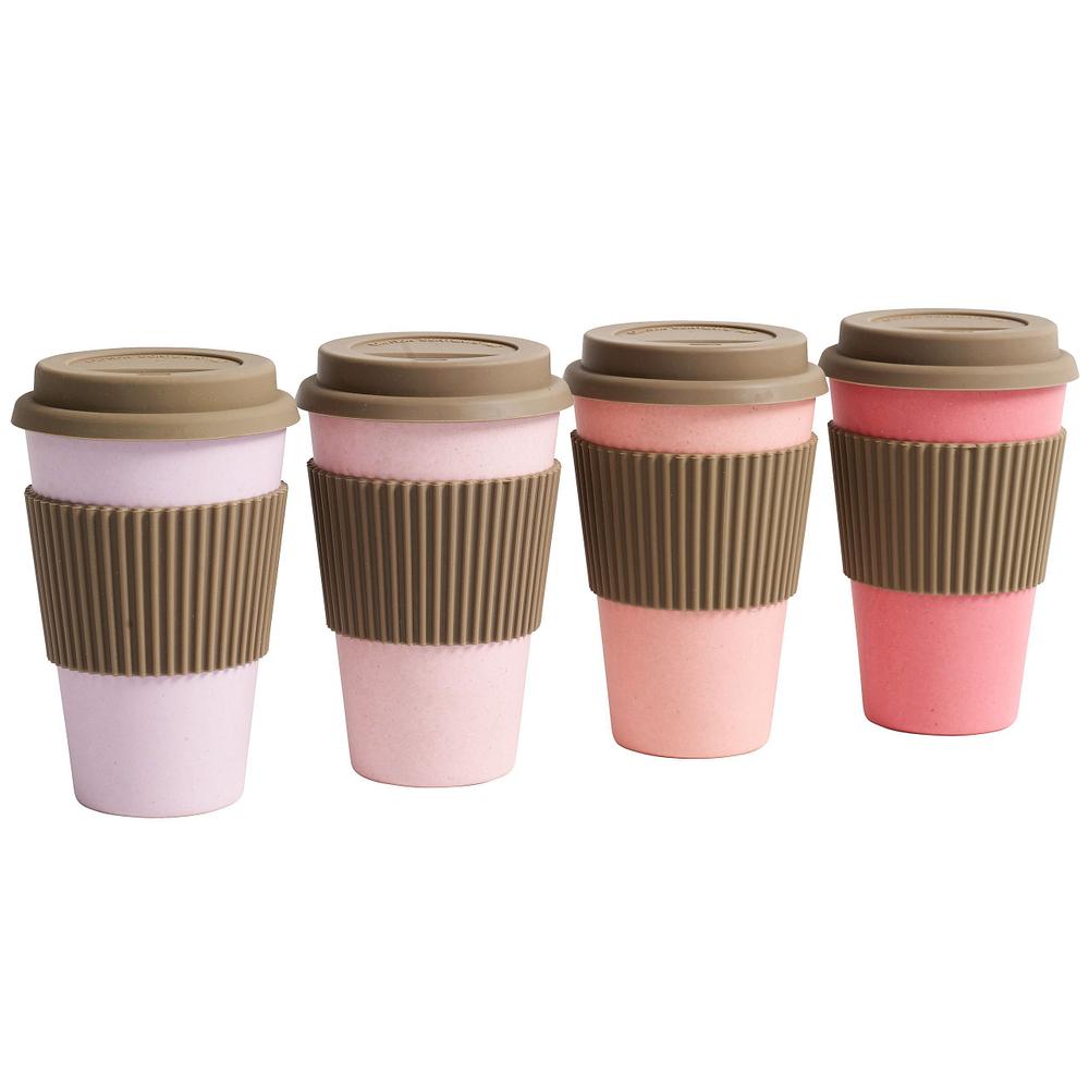 NORDAL · Coffee-to-go Trinkbecher ' BAMBOO ' wiederverwendbar 330ml · königsblau – Bild 5