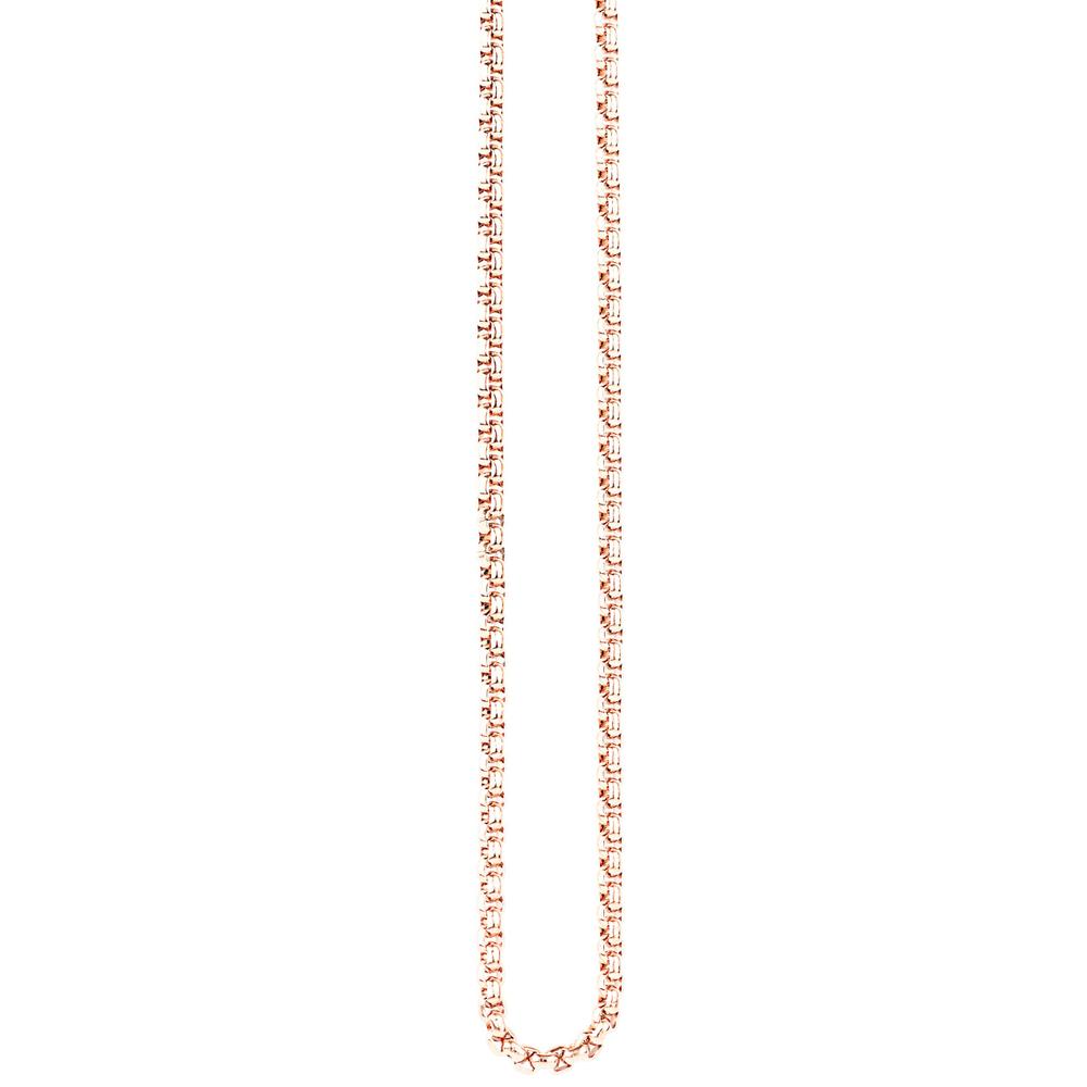 Traumfänger · Damen-Halskette Edelstahl 3mm · roségold SC063R – Bild 2