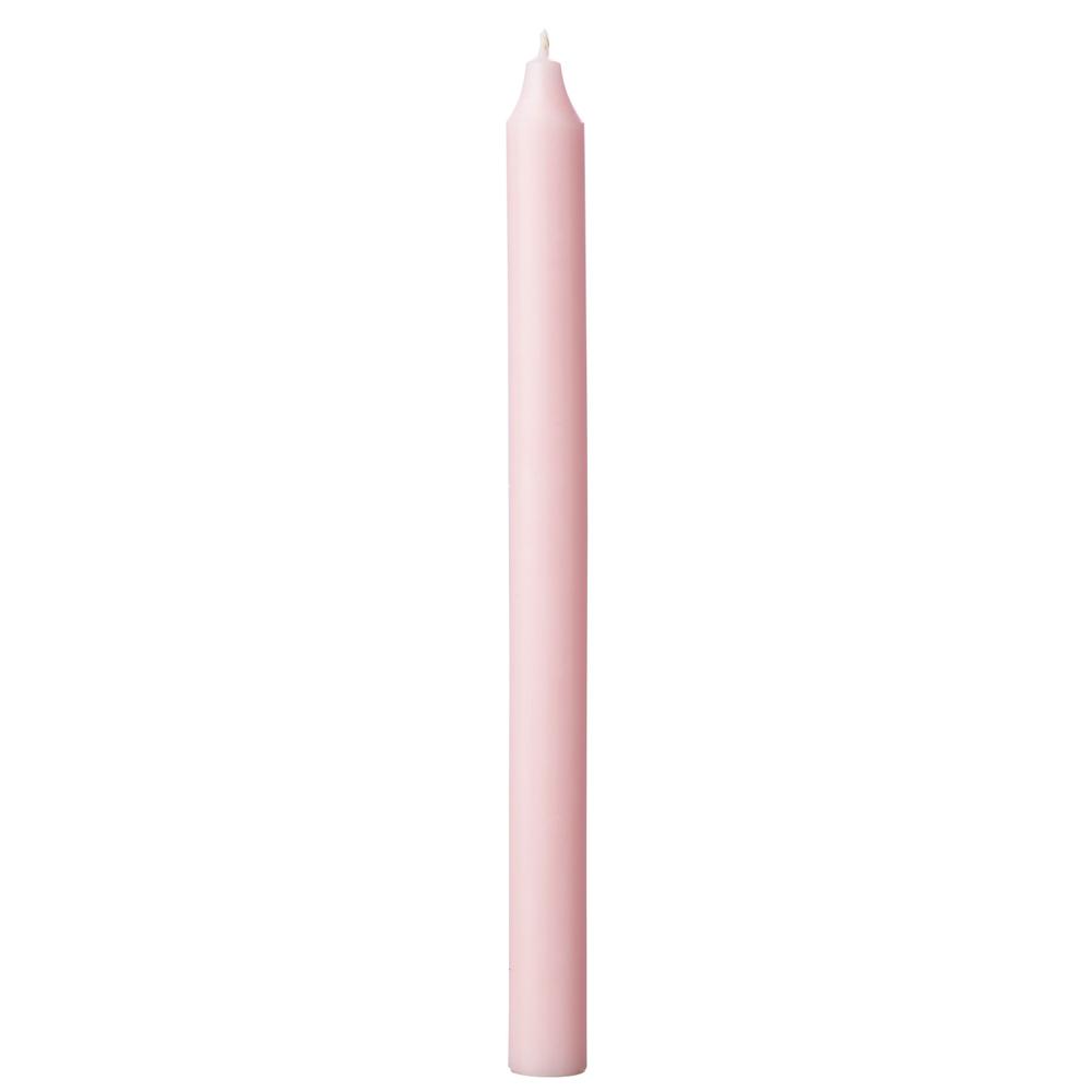 AFFARI · Stabkerze 14h RUSTIC 28cm · rosa – Bild 1