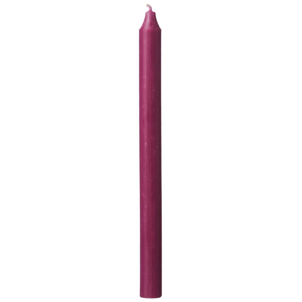 AFFARI · Stabkerze 14h RUSTIC 28cm violett – Bild 1