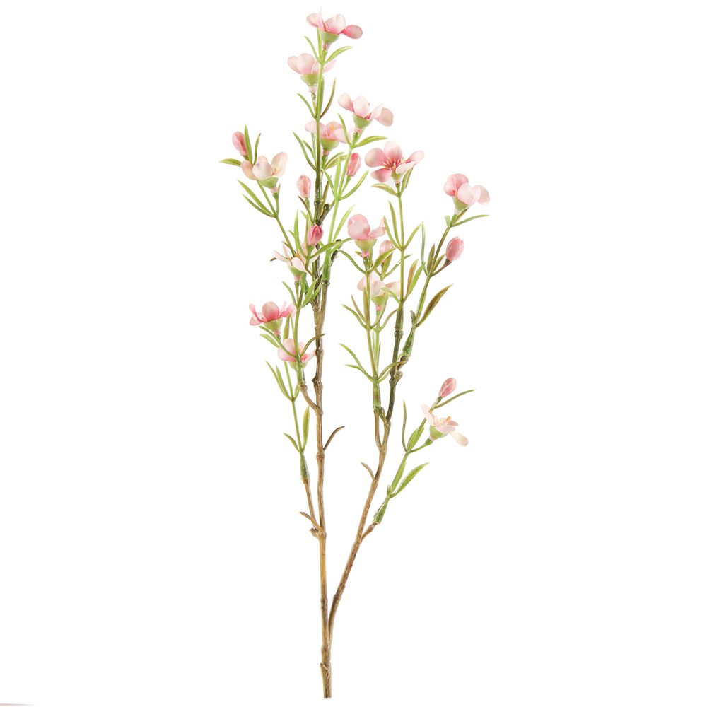 Countryfield · Kunstblume Wachsblume ' Tamara S ' 52cm · rosa – Bild 1