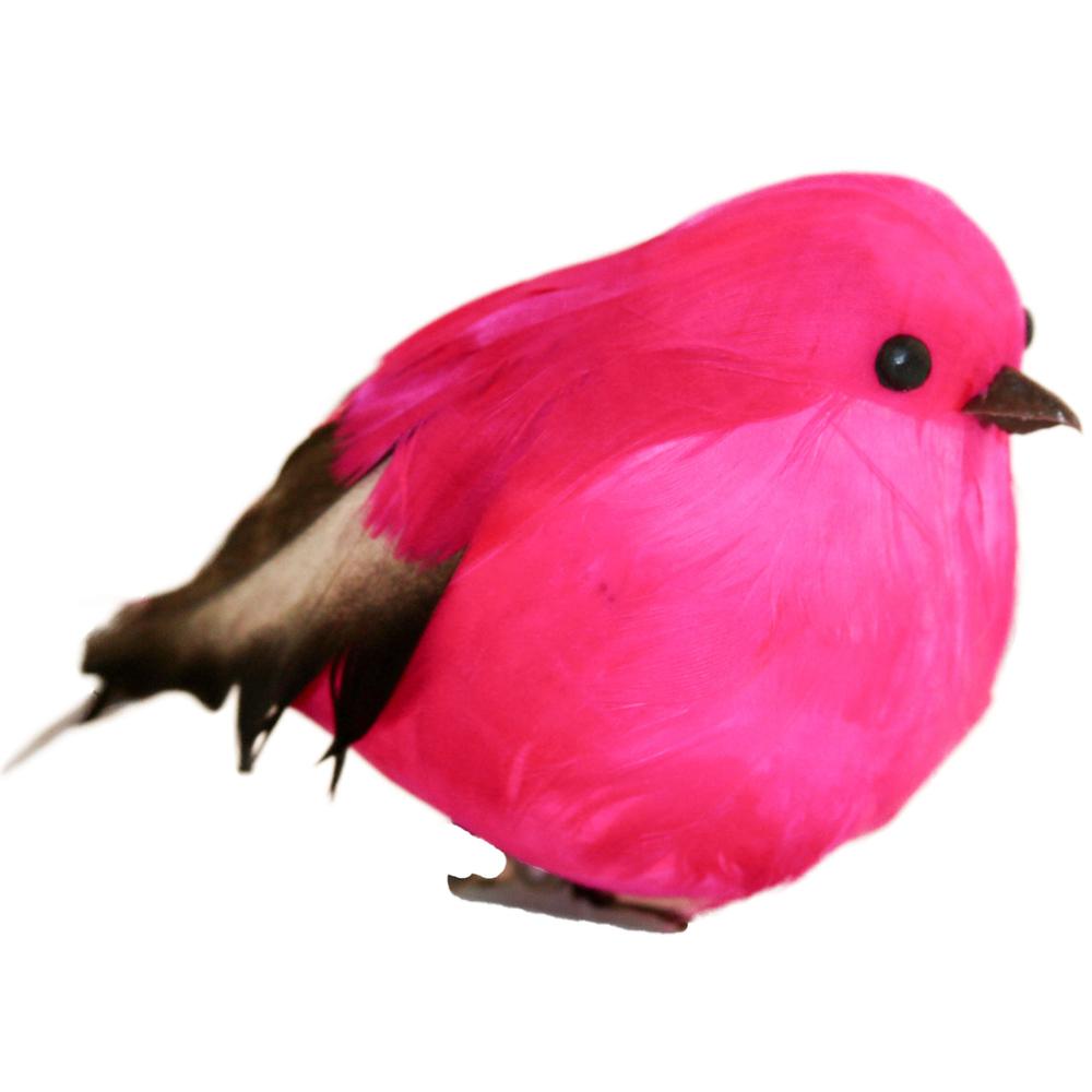 AM-Design Deko-Vogel Figur 12cm pink