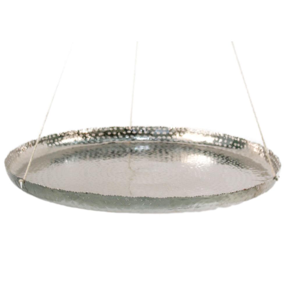 AM-Design · Alu-Schale hängend 61cm · silber