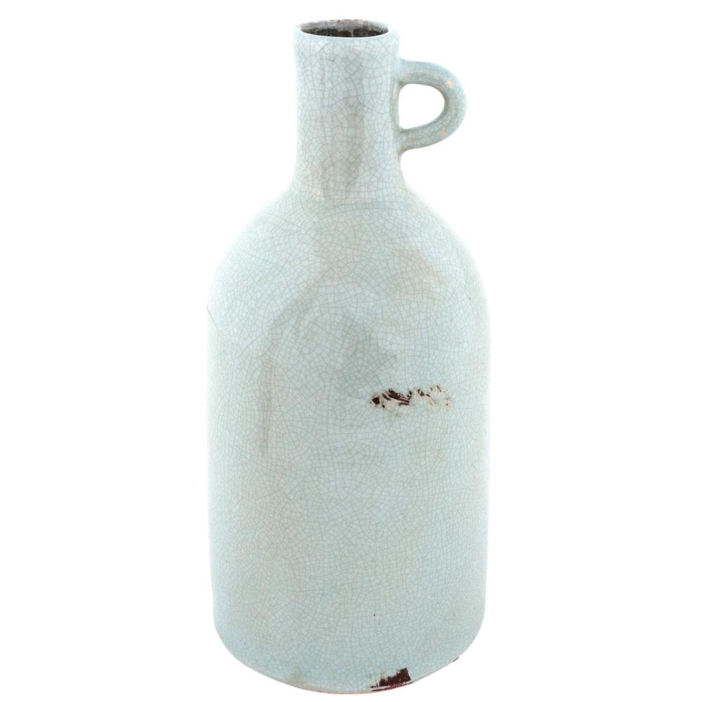Long Island Living-LIL · Keramik-Vase Krug 28cm · hellblau  – Bild 1