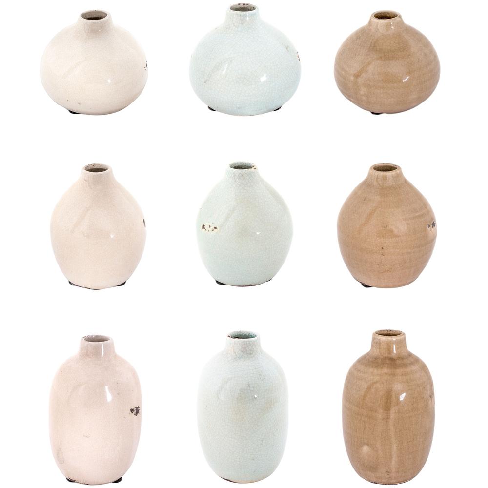 Long Island Living-LIL · Keramik-Vase 10.5cm · braun – Bild 2