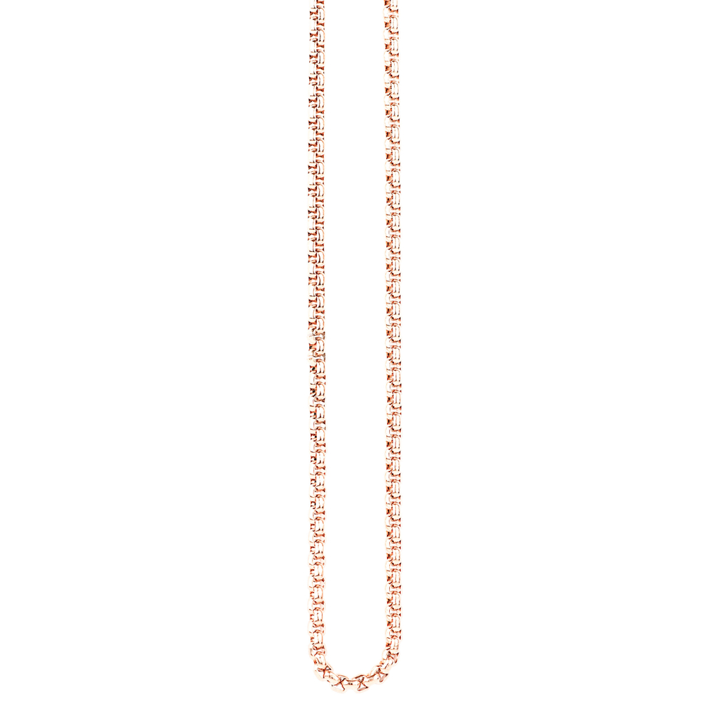 Traumfänger · Damen-Halskette Edelstahl 2mm · roségold SC062R – Bild 2