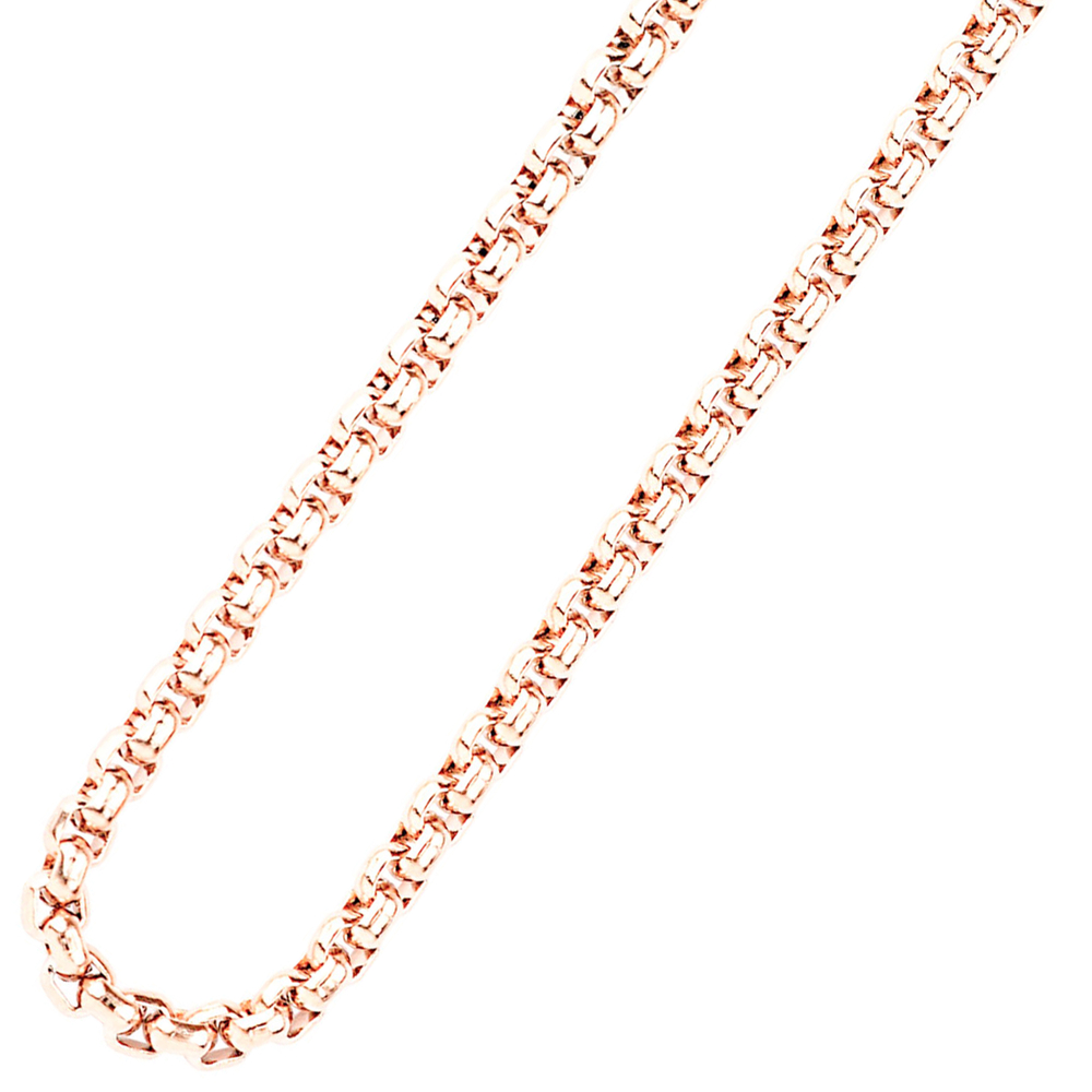 Traumfänger Damen-Halskette Edelstahl 2mm roségold SC062R – Bild 1
