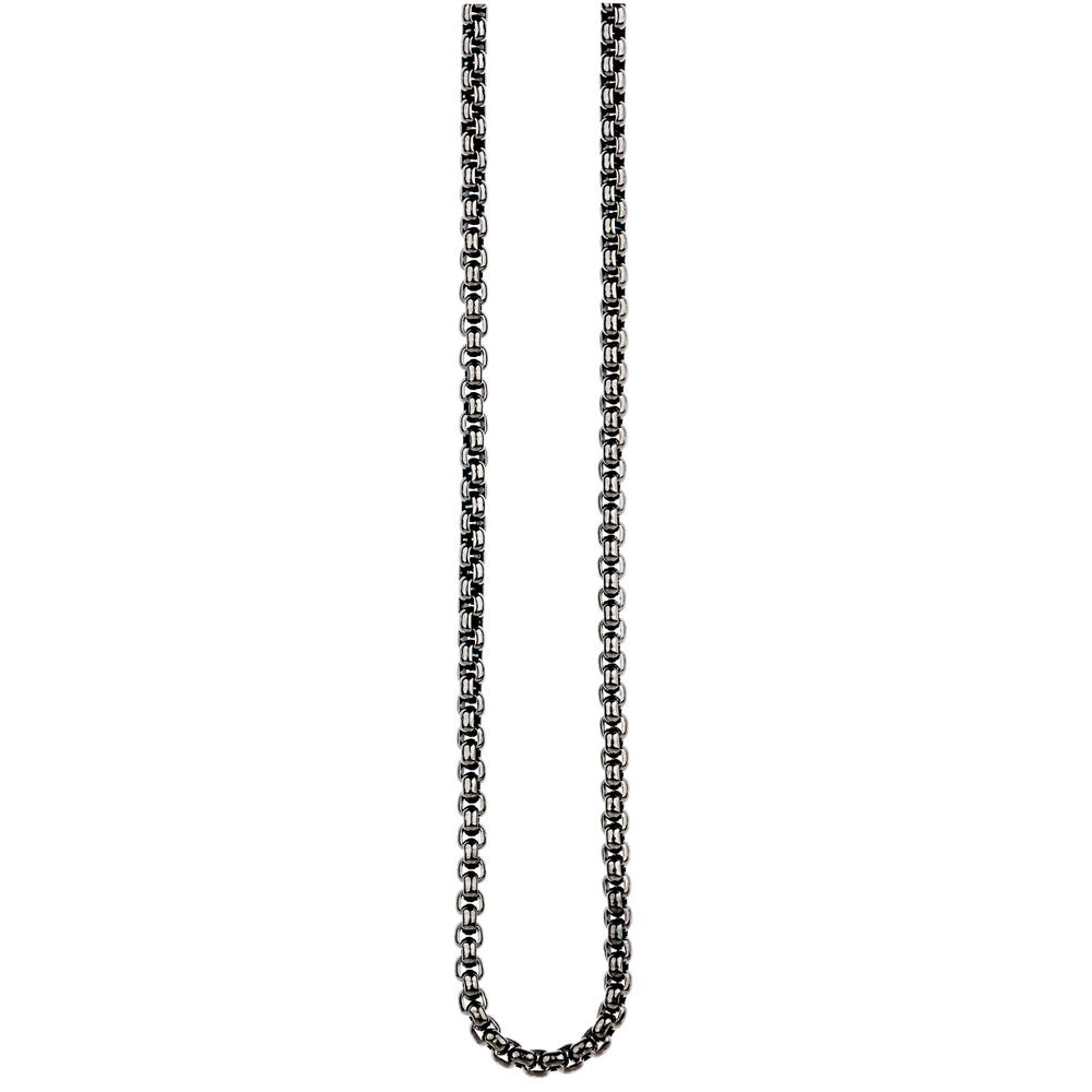 Traumfänger · Damen-Halskette Edelstahl 3mm ·  mitternachtsgrau anthrazit SC063GR – Bild 2