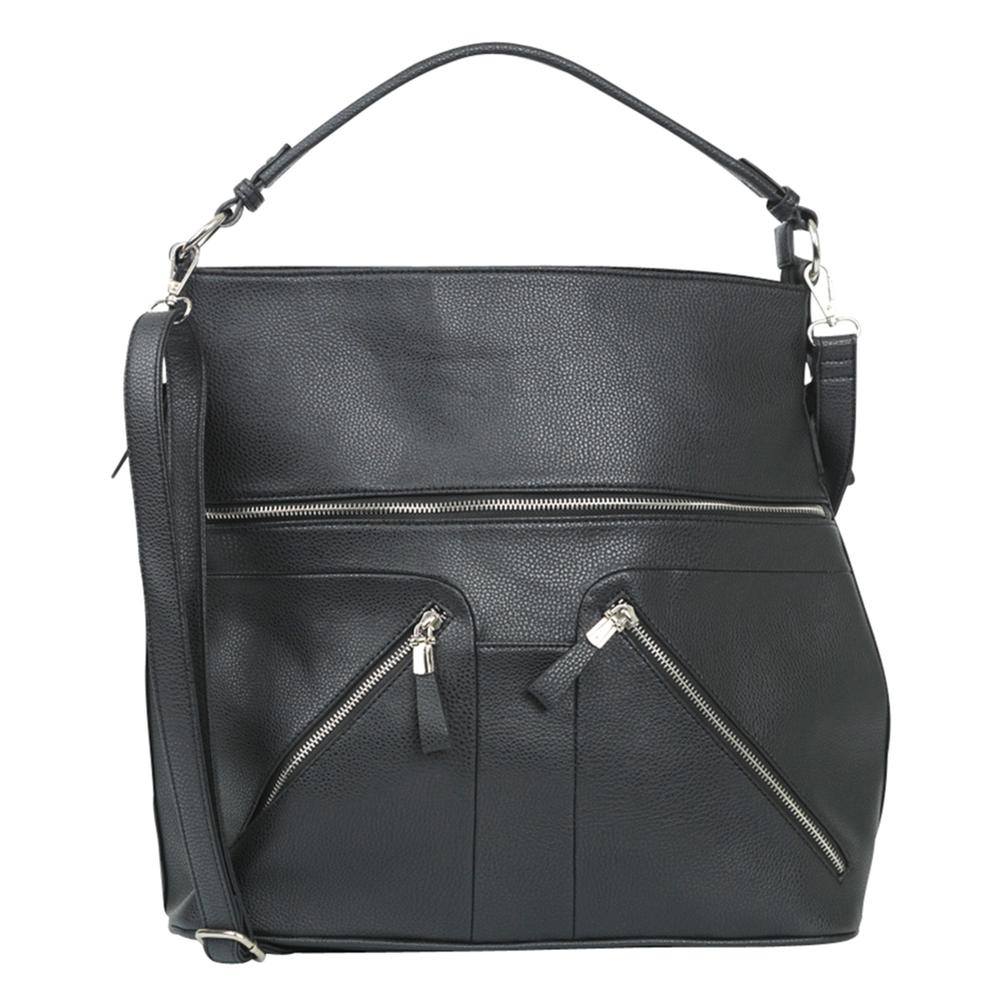 theMoshi · Damen-Handtasche Schultertasche DEBBIE · schwarz