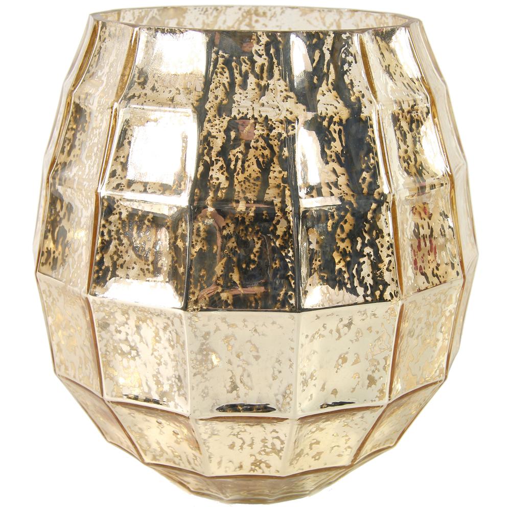 Countryfield · Teelichthalter Windlichtglas ALBE · gold – Bild 3