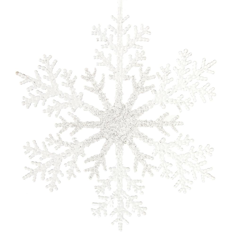 Countryfield · Weihnachtshänger Schneeflocke Attkins · creme-weiß – Bild 2