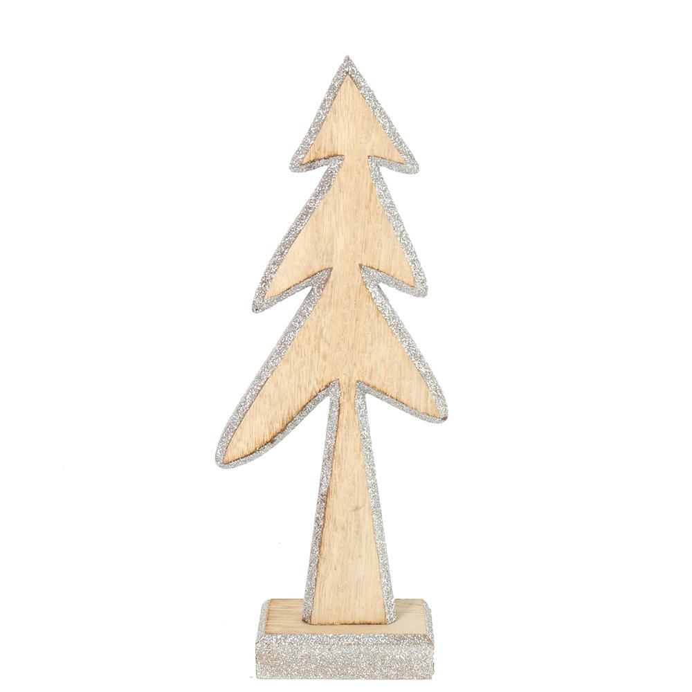 Countryfield · Holz-Baum PEET · silber natur – Bild 2
