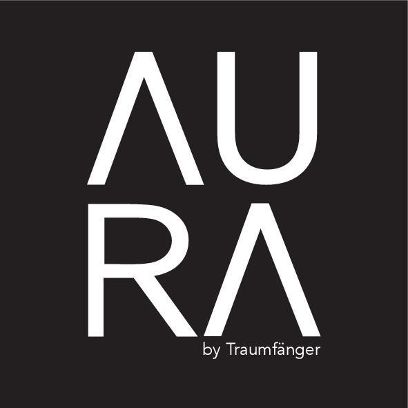 AURA · Damen-Stoff-Halsreif gold grau – Bild 2