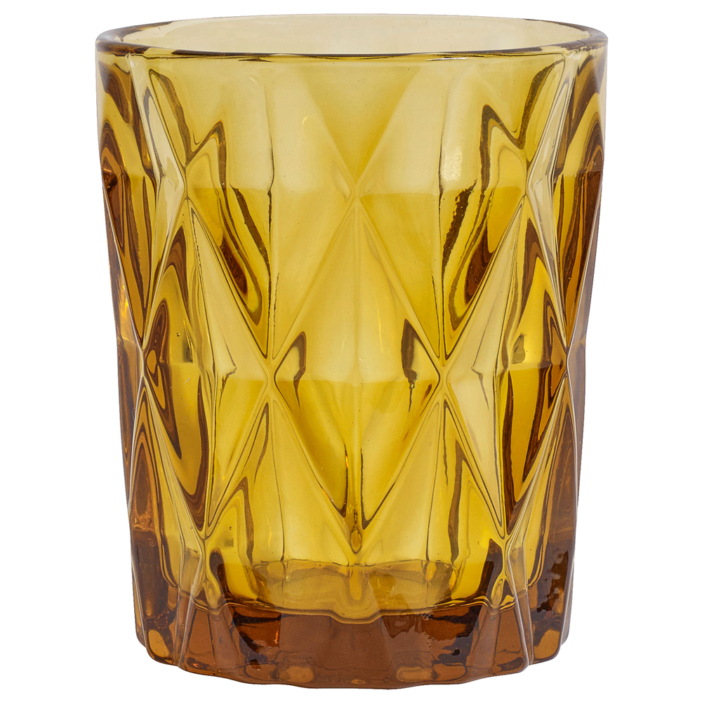 NORDAL Longdrinkglas Trinkglas DIAMOND 250ml amber
