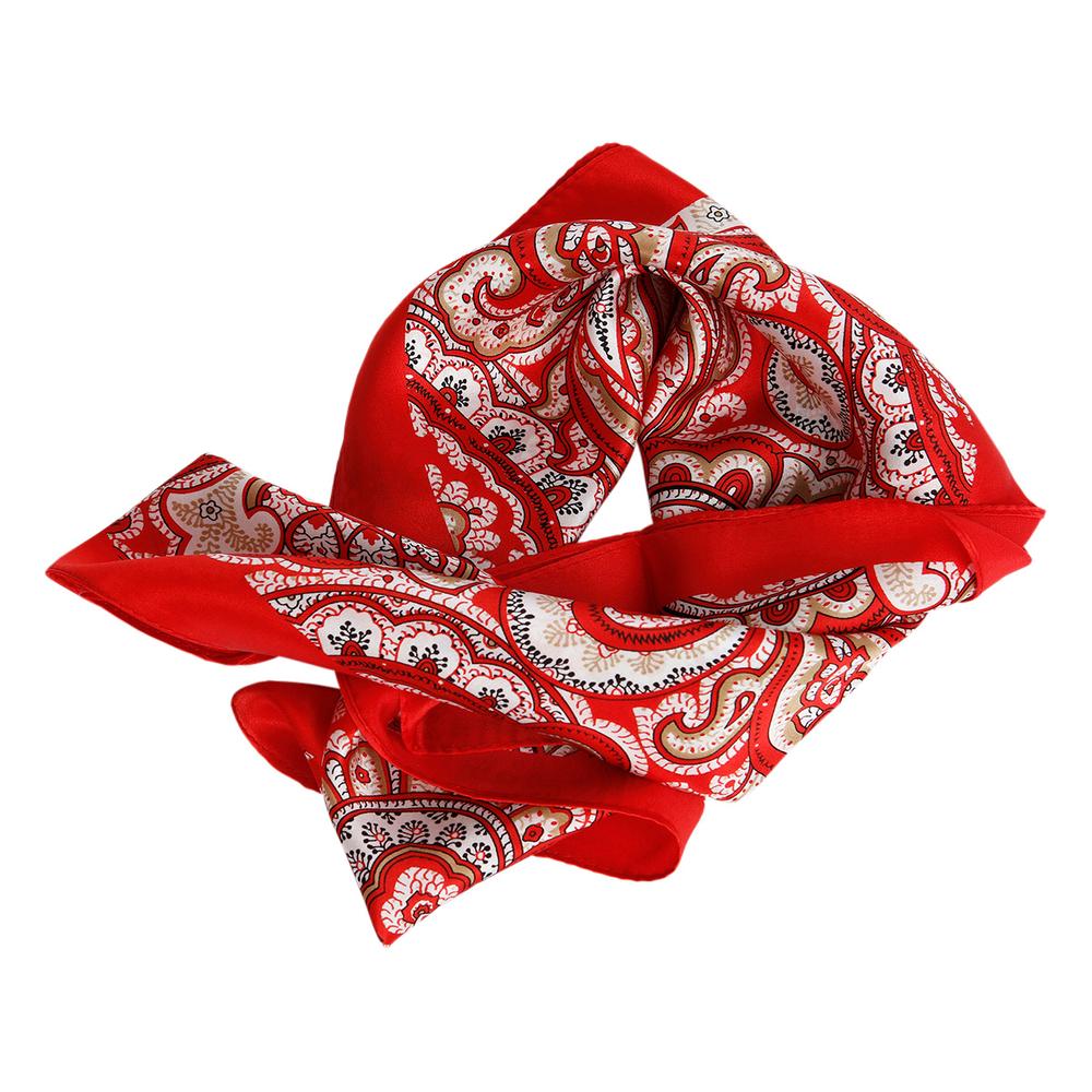 theMoshi Damen-Halstuch Mini-Schal Stola Mea 52cm rot – Bild 1