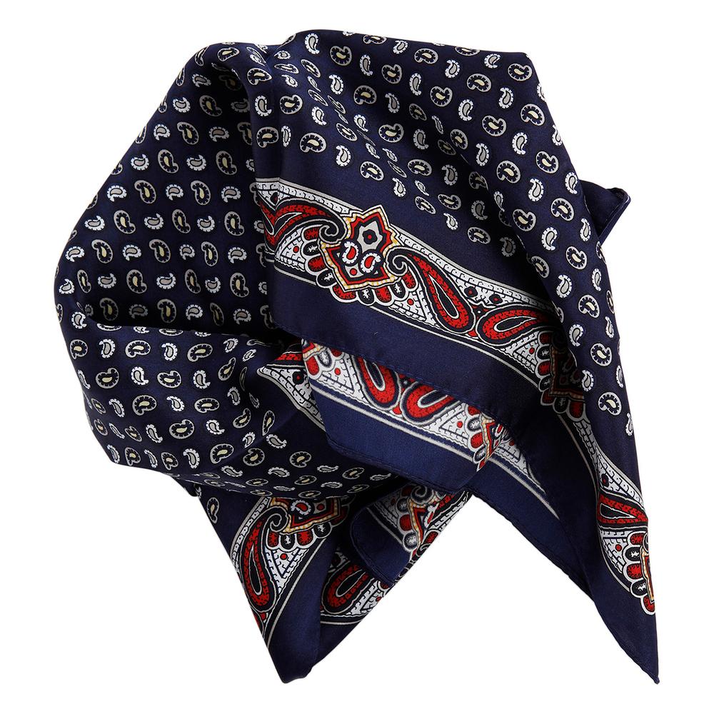 theMoshi Damen-Halstuch Mini-Schal Stola Jo 52cm blau – Bild 1
