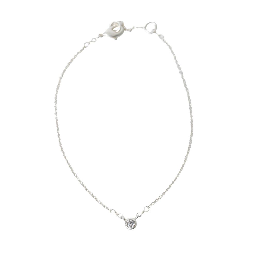theMoshi Damen-Armband Lisa Platin 20cm silber – Bild 1