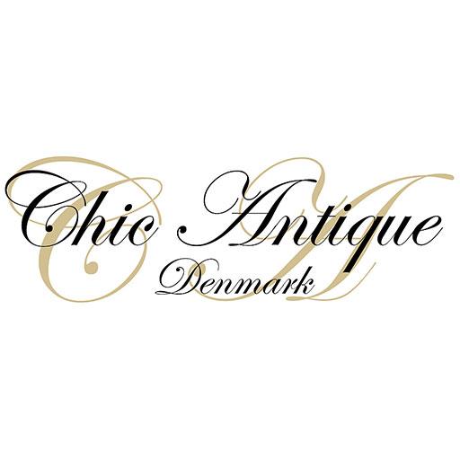 Chic Antique Denmark Spiegel-Wand-Regal 90cm antik creme natur weiß – Bild 2