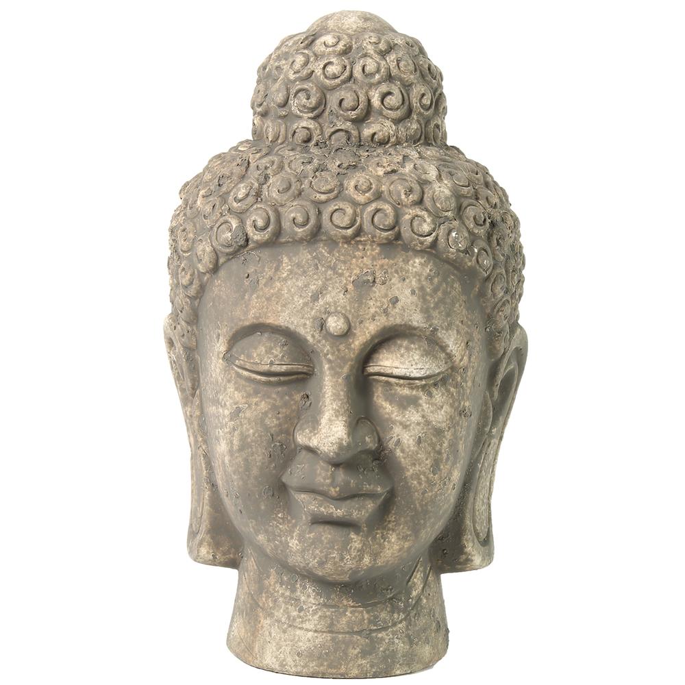 Countryfield Buddha-Kopf MAME M 30cm grau – Bild 1