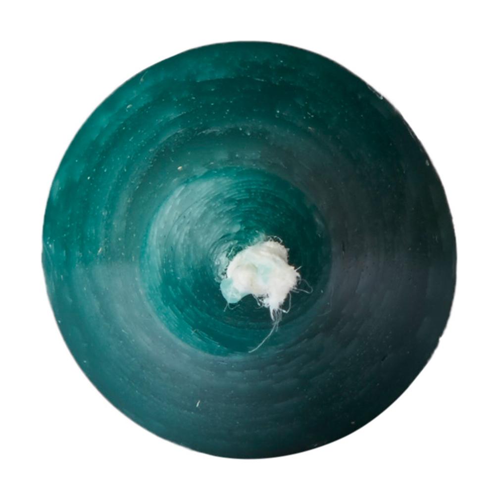 AFFARI Stabkerze 14h RUSTIC 28cm dunkel-grün – Bild 3