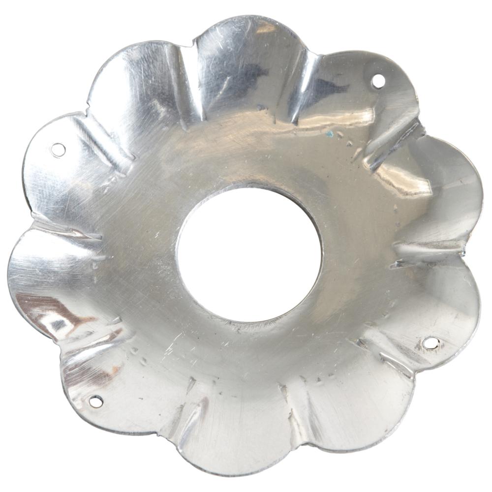 AFFARI Kerzenring COLETTE L Antik 8.5cm silber – Bild 1