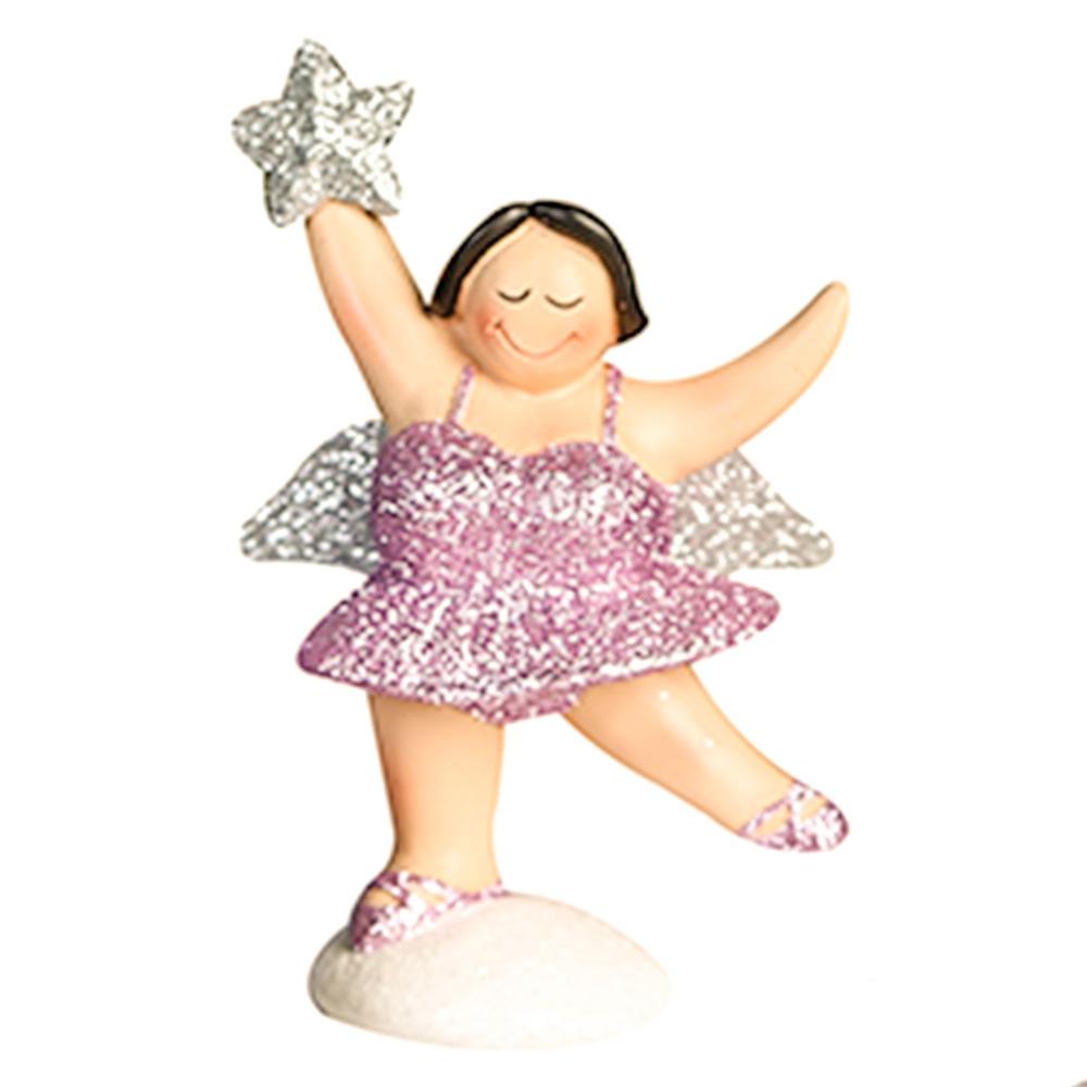 Casablanca Zierschmuck-Figur Engel Betty 13cm rosa-silber – Bild 2