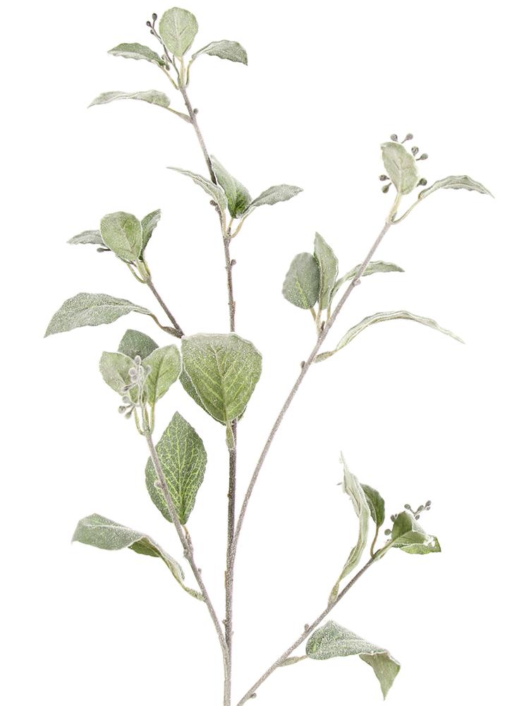 Countryfield Kunstpflanze DANAH L Liguster glitzernd 63cm grün