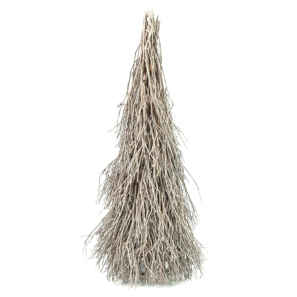 Countryfield Weihnachtsbaum BOUTON S 75cm grau-braun