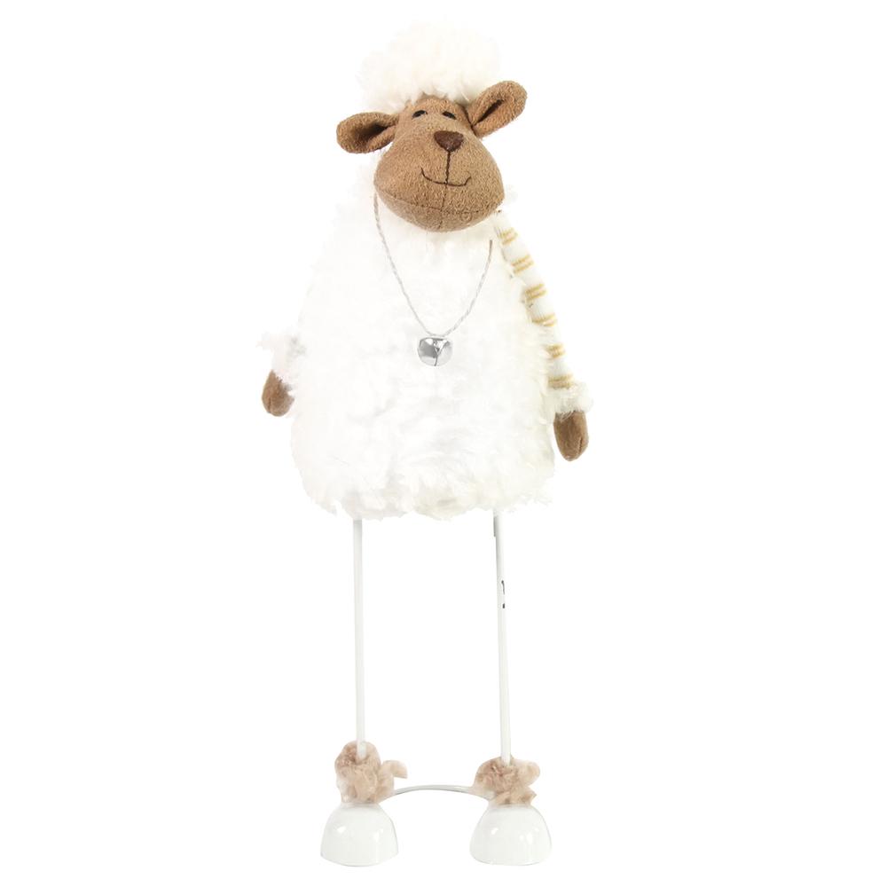 Countryfield Stoff-Figur Schaf Dorsey S Stelzbeine 32cm weiß