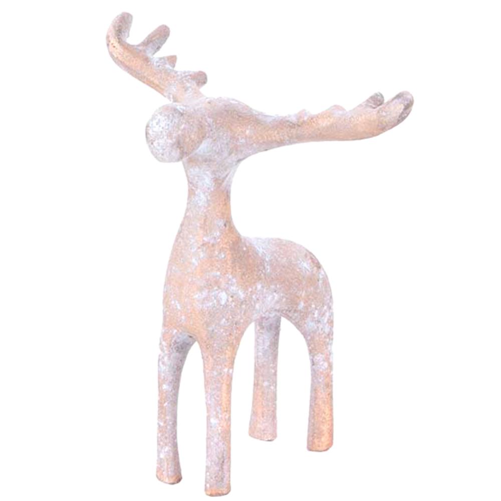 HOME SOCIETY. Zierschmuck-Figur Hirsch Deer Dash L 14cm – Bild 3