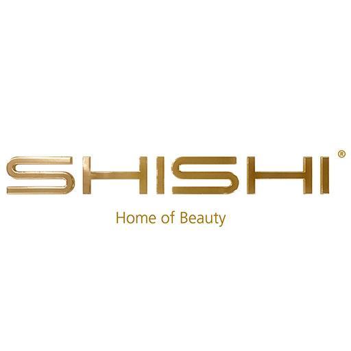 SHISHI Christbaumkugel Glitter Perlen körnig 8cm gold – Bild 2