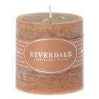 Riverdale Duftkerze Pillar Mandarin-Coriander kupfer 001