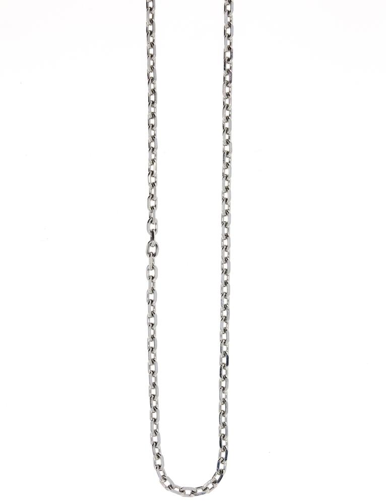 Traumfänger Damen-Halskette Gliederkette 2mm Stahl-Silber – Bild 1