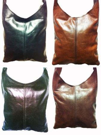 Oriental Leather Handbag Safa -  Dark Brown – image 5