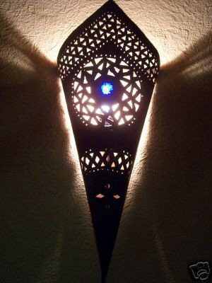 Oriental Wall Lamp Fatma Blue