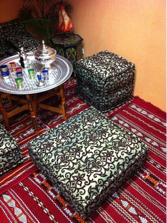 Oriental Fabric Seat Cushion Orient (5) – image 5