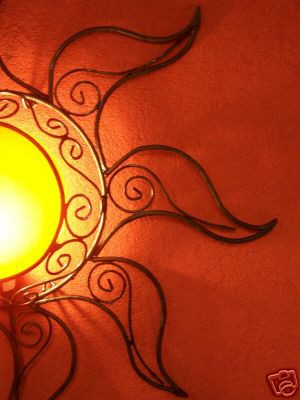 Wall Lamp Sonne orange – image 4