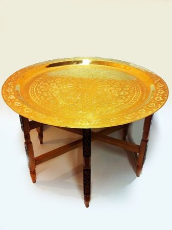 Oriental Table Iman - Gold, 80cm – image 1