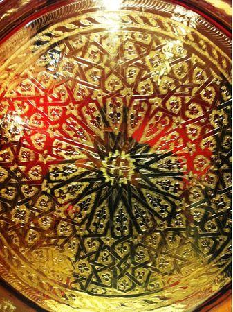 Oriental Table Iman - Gold, 80cm – image 4