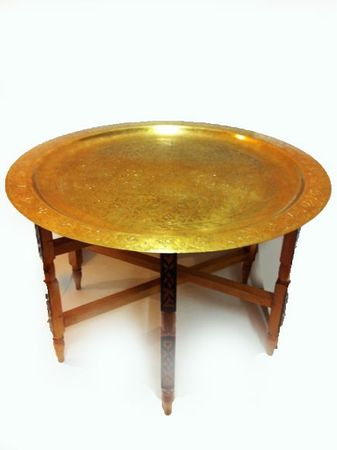 Oriental Table Iman - Antique, 80cm – image 1