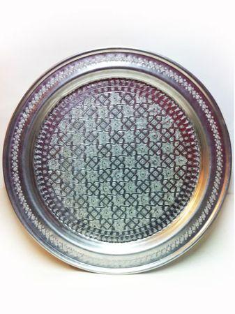 Moroccan Table Amana - Silver, 74cm – image 3