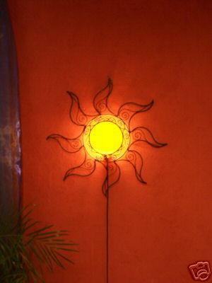 Wall Lamp Sonne yellow – image 2